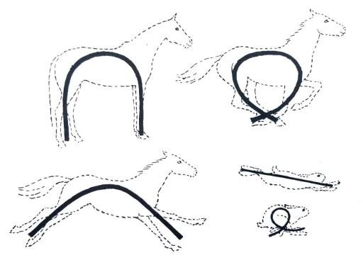 apprendre à dessiner un cheval qui galope