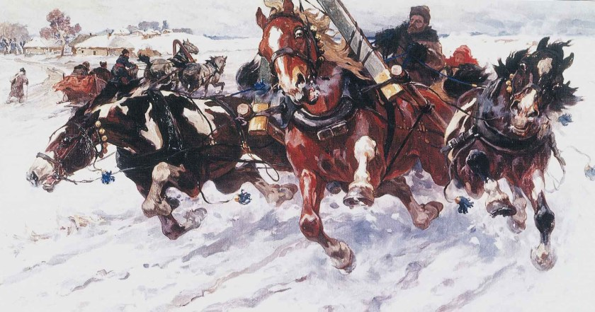 Troïka. Nikolaï Semionovitch Samokich