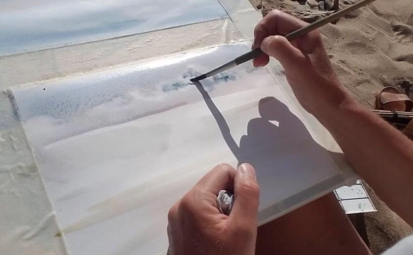 Comment peindre les nuages à l'aquarelle