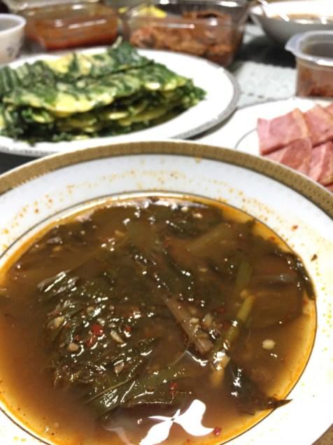 Bosin-tang (Soupe de chien)