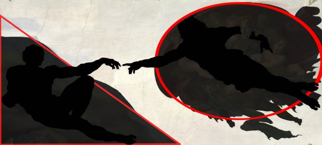 Michelangelo_-_Creation_of_Adam_silhouette_2