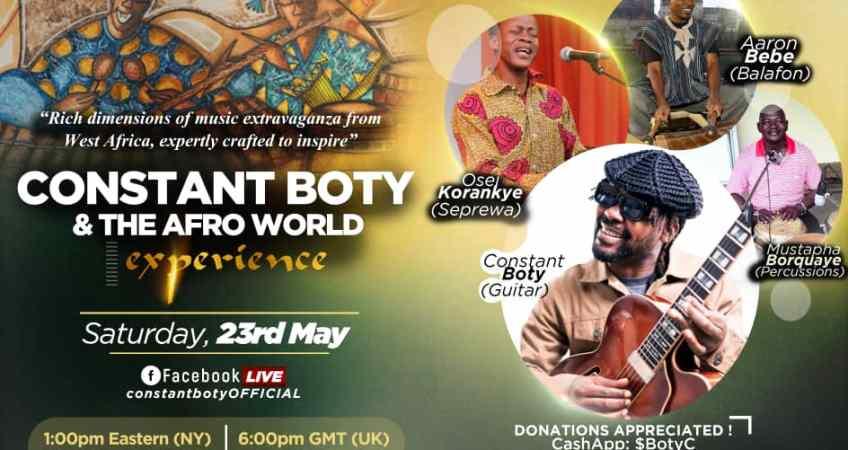 Ivorian Guitarist/Composer/Producer Constant Boty