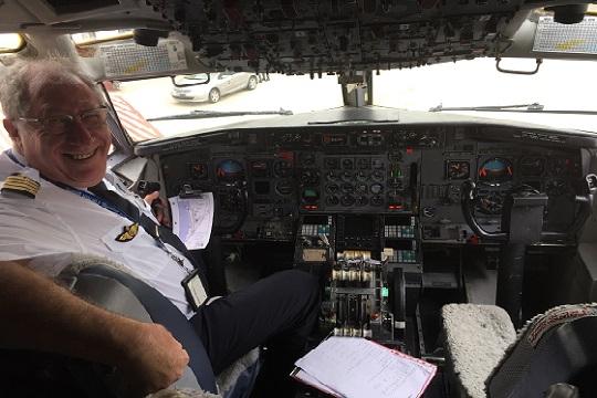 Portait dapprivoiseur PLM - Portrait d'apprivoiseur: Pierre-Louis Monfort, commandant de bord