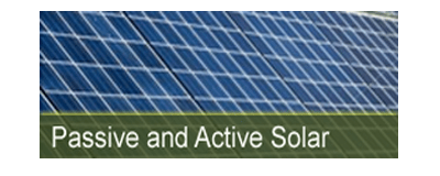 passive and active solar