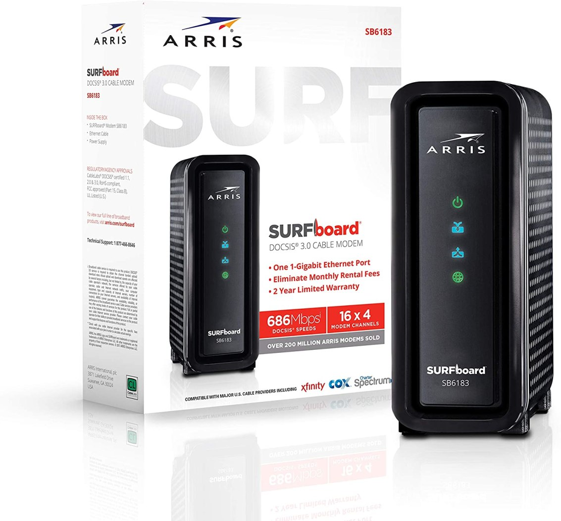 ARRIS SURFboard SB6183 Cable Modem