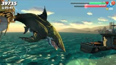 تحميل لعبة القرش الجائع Hungry Shark Evolution اخر اصدار للاندرويد جديد 2020
