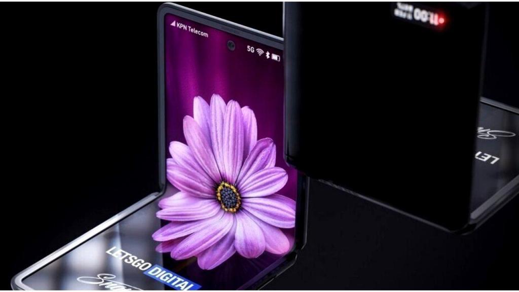 يظهر هاتف Samsung Galaxy Z Flip القابل للطي في فيديو