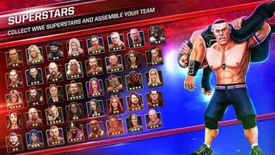 رسميآ لعبة المصارعة الحرة نسخة مهكرة WWE Mayhem لهواتف اندرويد