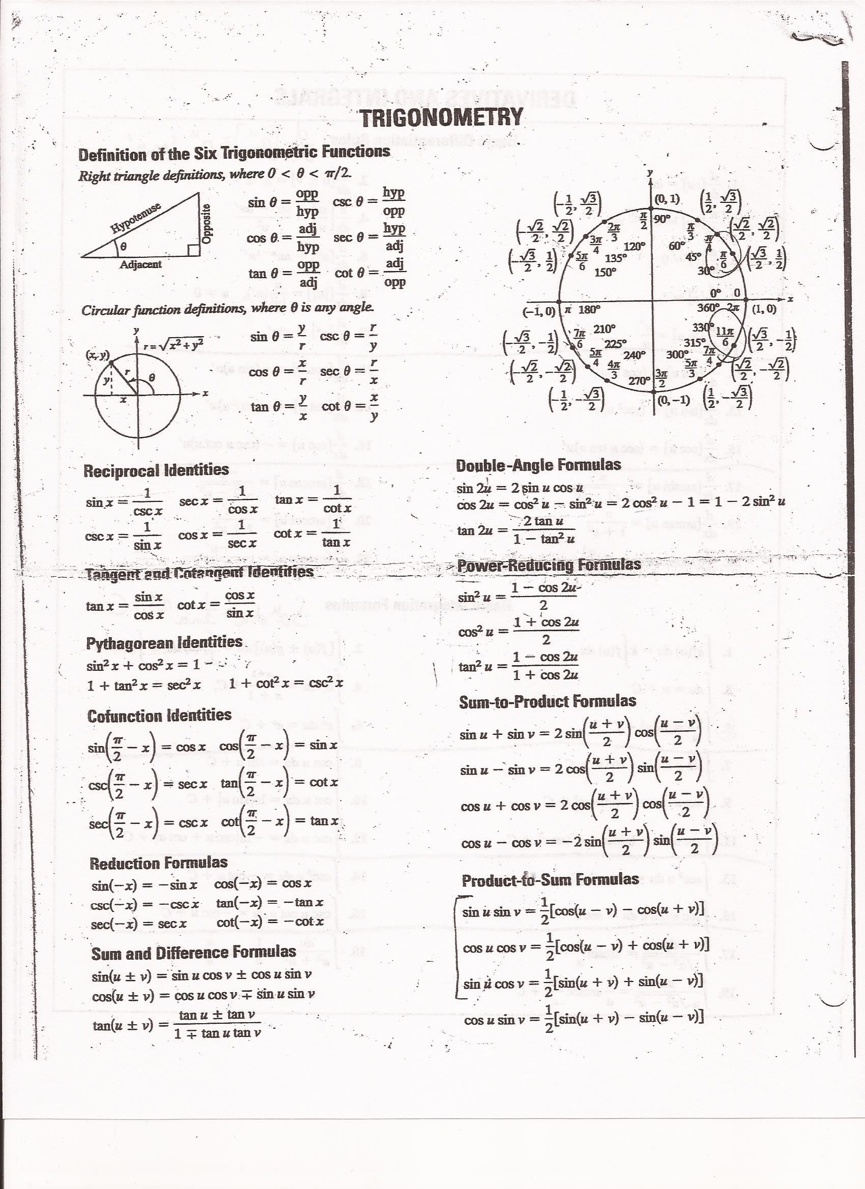 Math 166 C1 H1 Supplemental Instruction