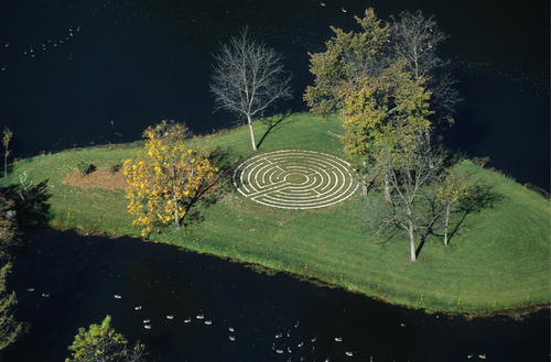 Labyrinth on Stewsie Island, MN