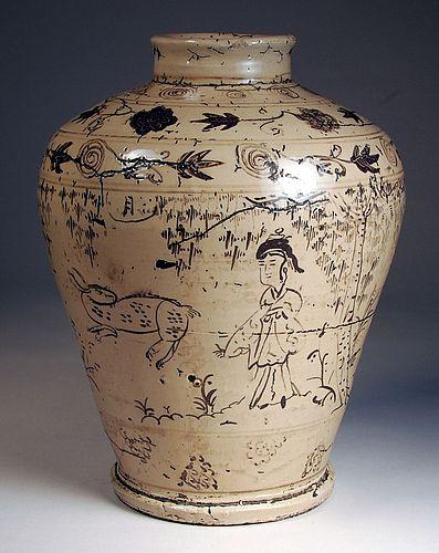Korean Vase Perlman Teaching Museum Carleton College