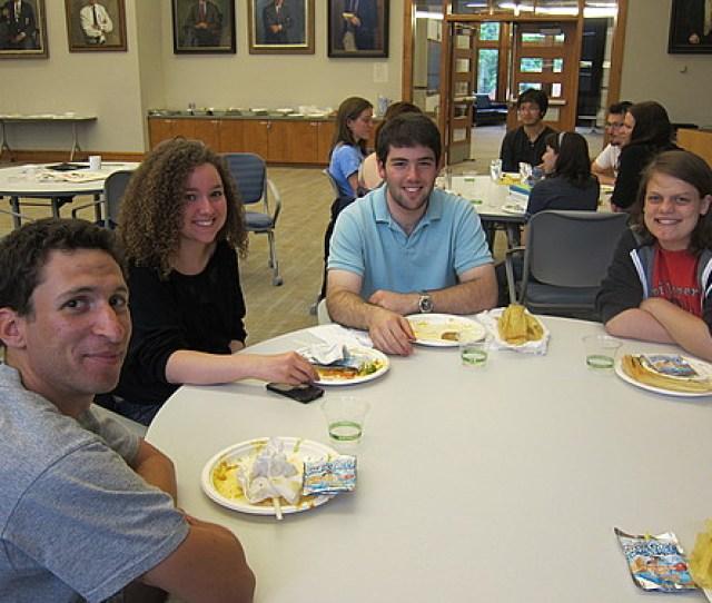 Left To Right Scott Graber  Rachel Kirk  Charles Bloom  Nikki Rhodes  Linguistics Carleton College