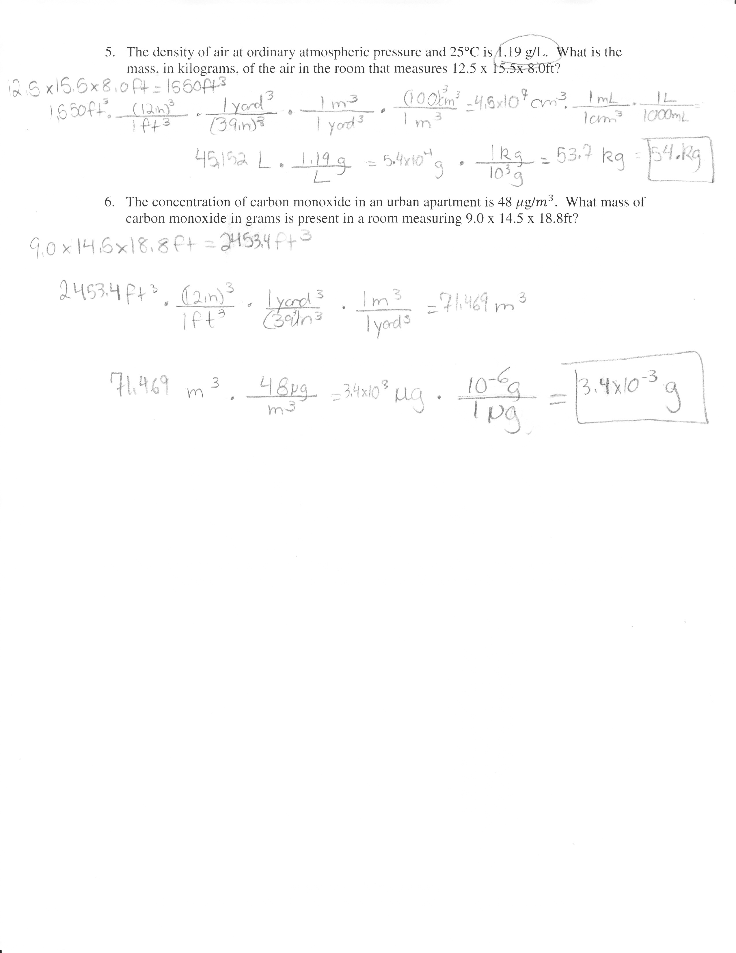 Pascal Si Unit Worksheet
