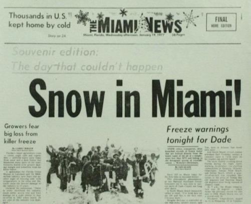 Image result for u miami cold front