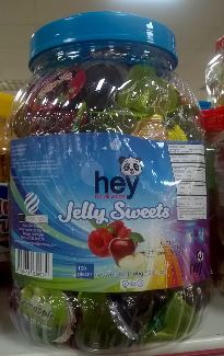 Hey jelly sweets