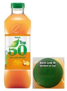 Tropicana Trop 50 Multivitamins Juice