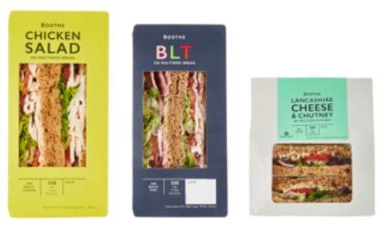 Booths Sandwiches