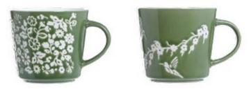 CDe embossed mug