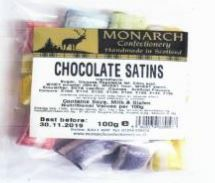 Candyco Monarch Confectionary Chocolate Satins