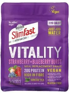 SlimFast Advanced Vitality Strawberry and Blueberry Burst