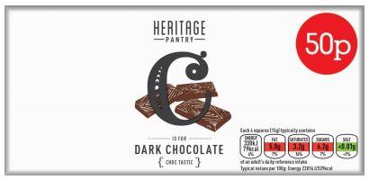 Nisa Heritage Dark Chocolate