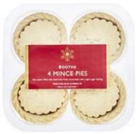 Booths Mince Pies