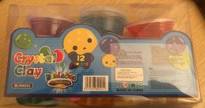 Packaging of Modelling Clay - Slime