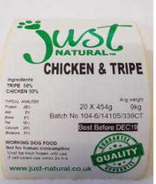 Chicken and tripe 1