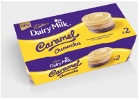 Cadbury Dairy Milk Caramel Cheesecake