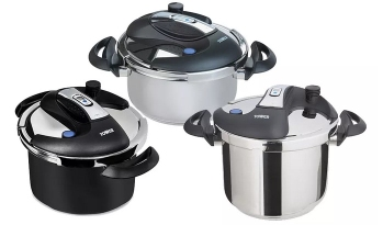 Tower pressure cookers