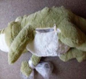 Plush crocodile toy 2