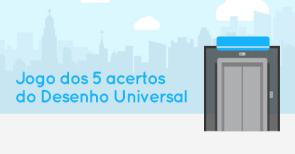 Cinco Acertos do Desenho Universal