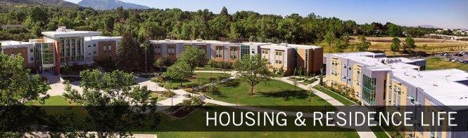 Weber State Housing