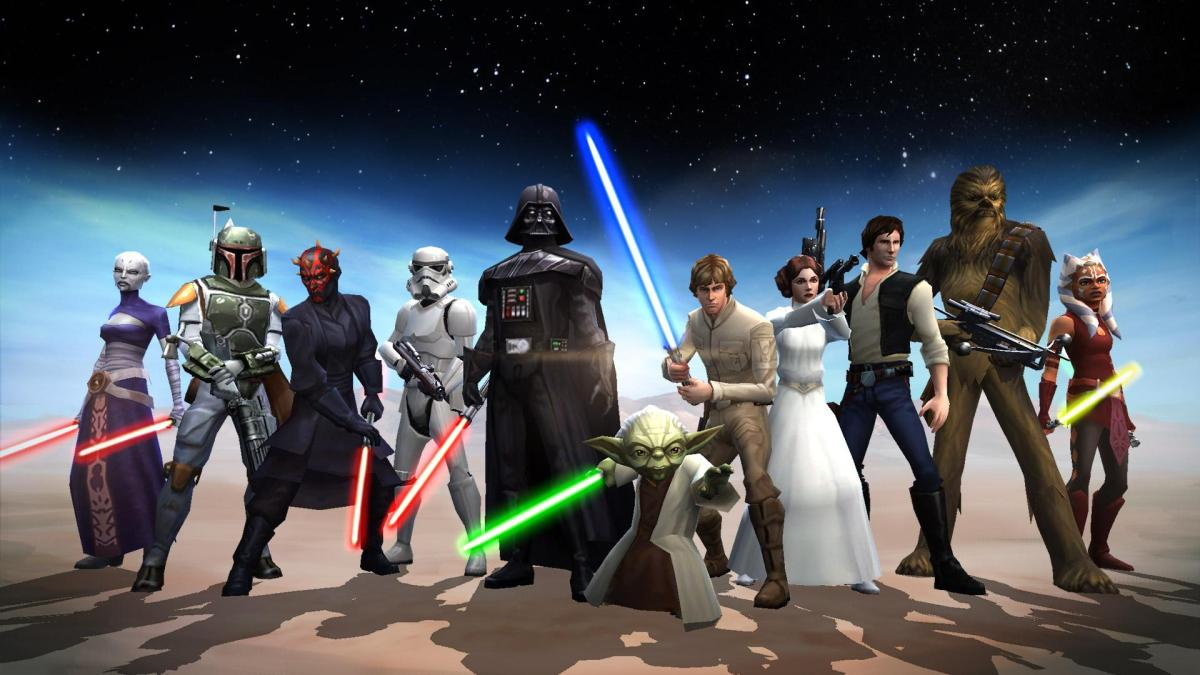 Прохождение Галактической войны в Star Wars: Galaxy of Heroes