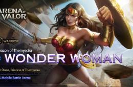 Чудо-женщина — новый герой в МОБА Arena of Valor