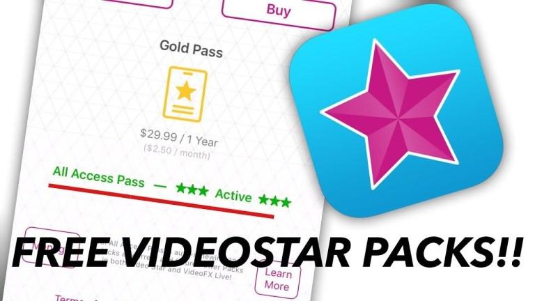 Get Video Star Free All Access Pass & Packs | VideoStar++ All Effects FREE!