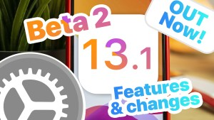 iOS 13.1 Beta 2 Changes & Features
