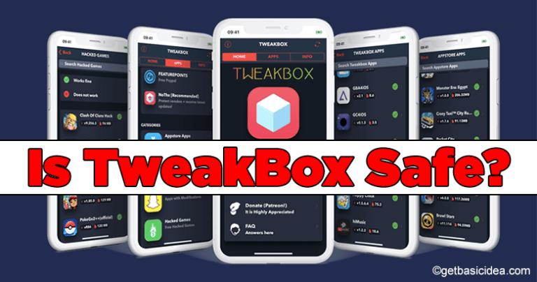 is tweakbox safe to use on ios