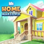 Idle Home Makeover مهكرة للاندرويد
