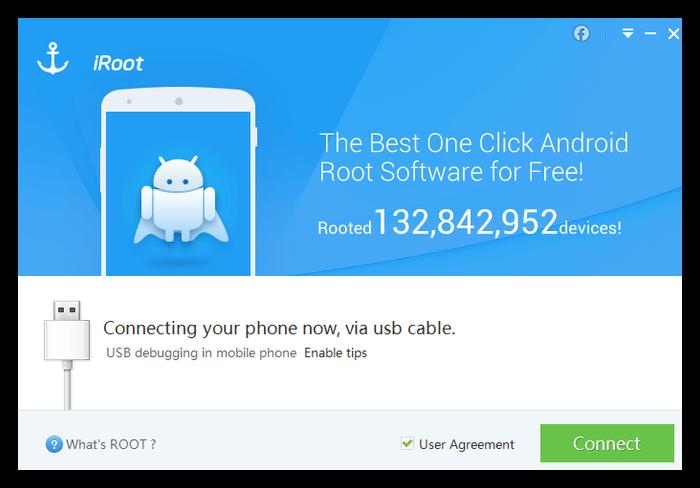 Приложение iRoot для компьютера