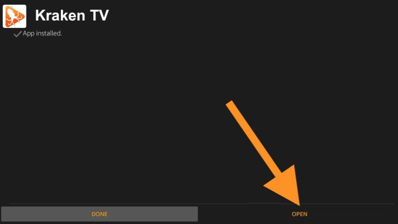como instalar kraken tv app en firestick