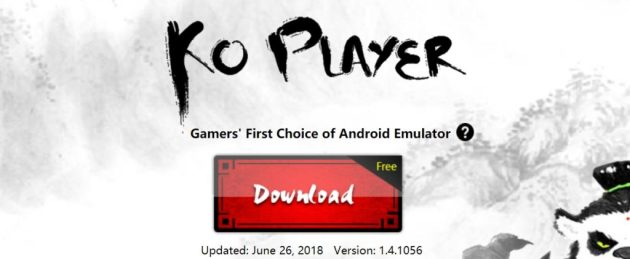 KOPlayer 2018 for Windows 10
