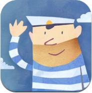 Fiete der Seemann lädt kleine Kinder zum Spielen ein!