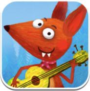 Kleiner Fuchs – nett animiertes Kinderliederbuch mit drei Titeln