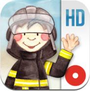 Tatütata die Feuerwehr ist da – interaktives Wunderwimmelbuch