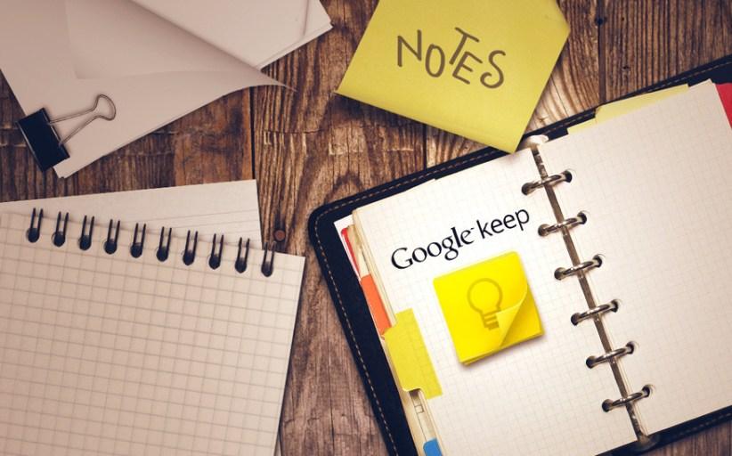 Keep Yourself Productive with Google Keep