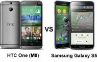Two Beasts' Comparision : Htc One M8 and Samsung Galaxy S5