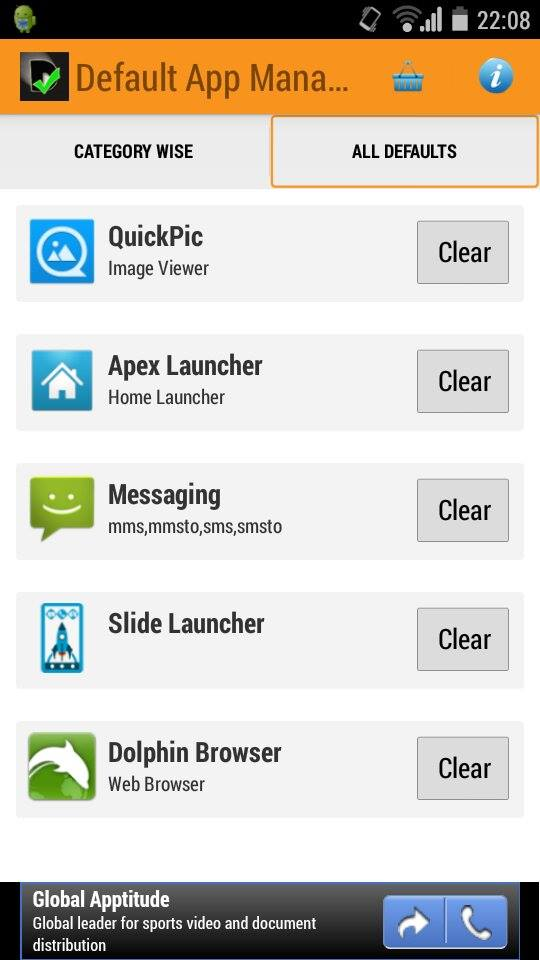 How to Remove And Set New Default App in Android