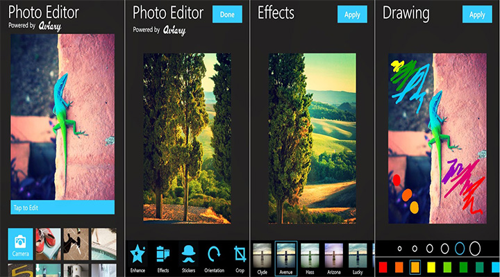 free  aviary photo editor for android