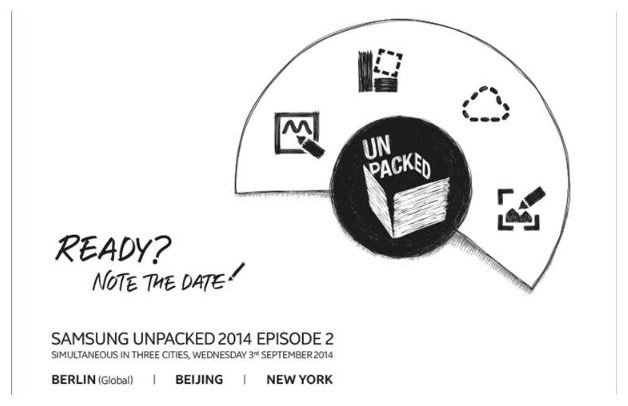 Samsung's unpacked event